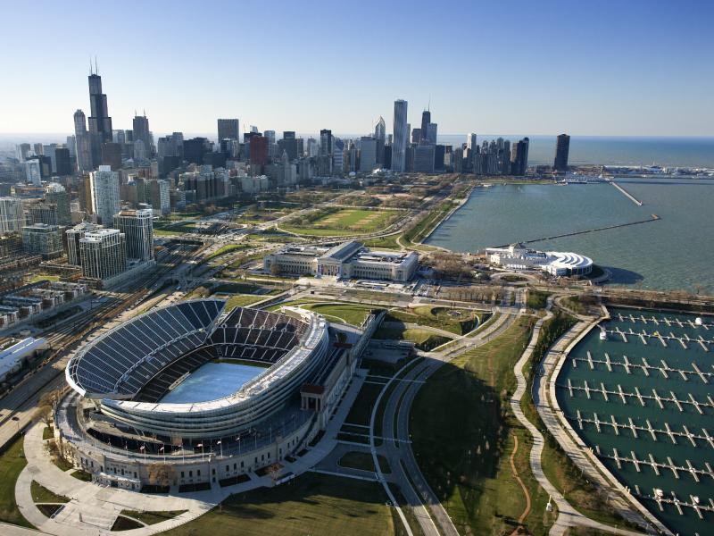 Burnham Harbor Park, Chicago